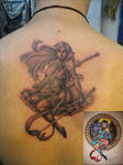 Psylocke Tattoo by SempaiNir