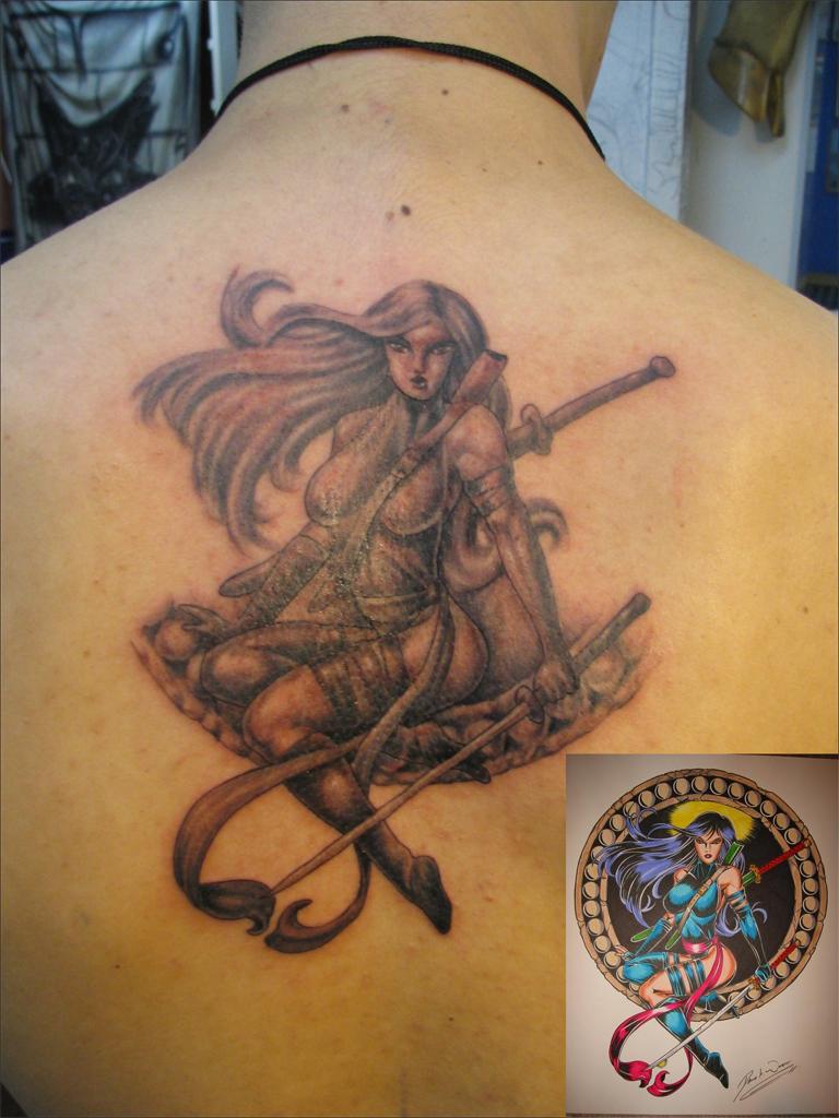 Psylocke Tattoo by SempaiNir on DeviantArt  Psylocke Tattoo...