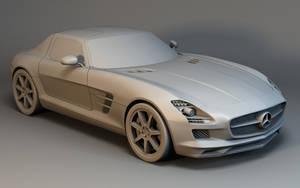 Mercedes SLS by Linolafett