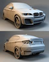 BMW X6 tuned by Linolafett