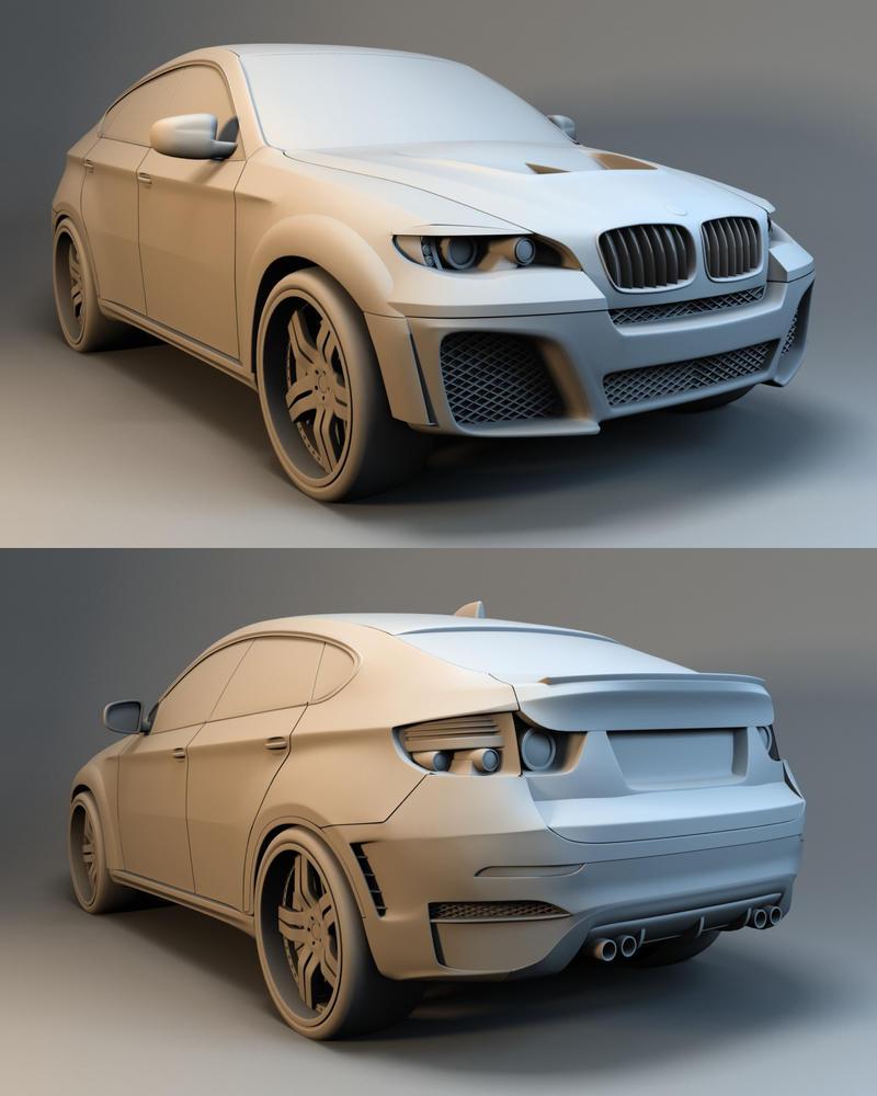 Bmw X6 Tuning: BMW X6 Tuned By Linolafett On DeviantArt
