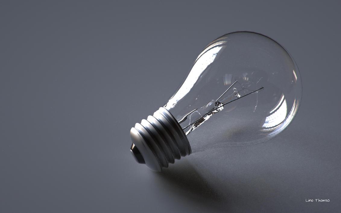 Light bulb by Linolafett