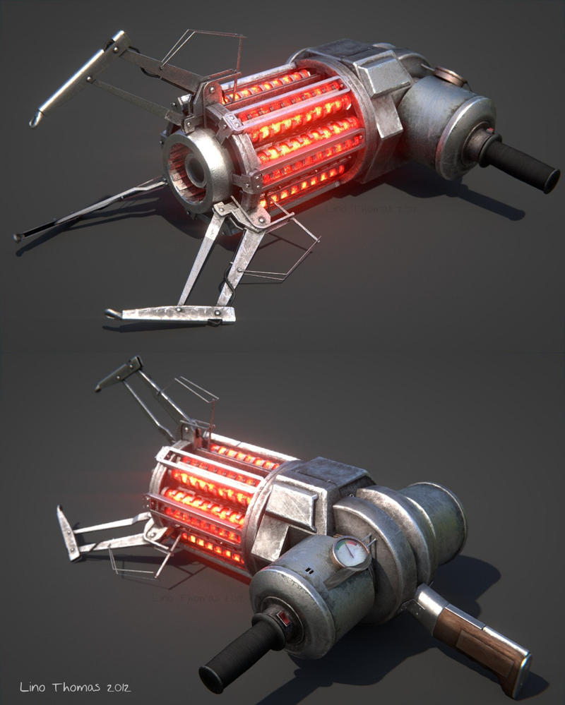 HL2 Gravity gun by Linolafett