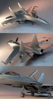 SU-27 W.I.P.