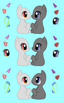 Chibi Pony Love Base