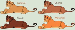 Young Lioness Adoptables 2 *ONE LEFT*
