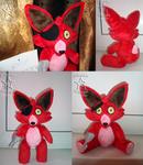 Foxy from FNAF plush