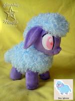 Pony's pet Woolie plushie by SunflowerTiger