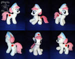 COMMISSION: Nurse Redheart 10 inches plushie