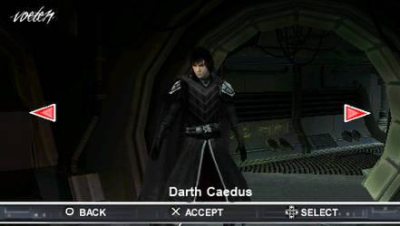 Darth Caedus in TFU