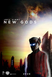 Jack Kirby NEW GODS movie poster