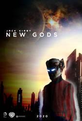 Jack Kirby NEW GODS movie poster
