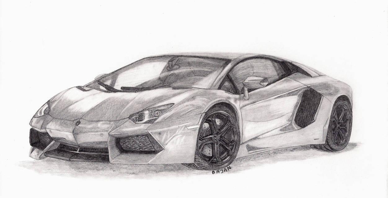Lamborghini aventador lp700 4 by bajan art