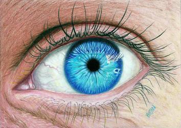 Realistic Eye by Bajan-Art