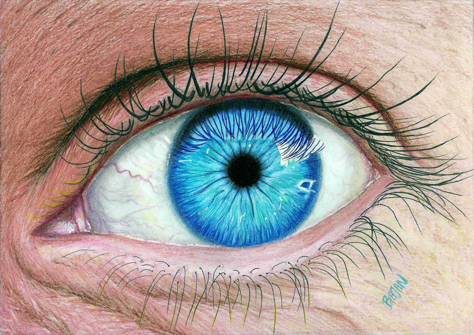 Realistic Eye by Bajan-Art on DeviantArt