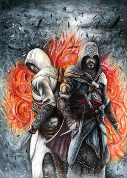 Assassin's Creed Revelations Altair and Ezio