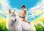 Princess Mononoke art