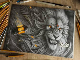 The Last Guardian by Bajan-Art