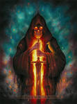 Grim Reaper drawing - Memento Mori