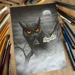 Owl from Hogwart - Harry Potter