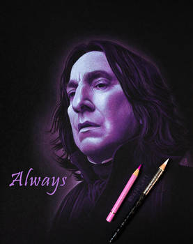 Severus Snape Drawing Always