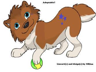Adoptable pup by NRfun