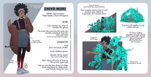 Chiyo Mori [BNHA OC Ref Sheet] by amumaju