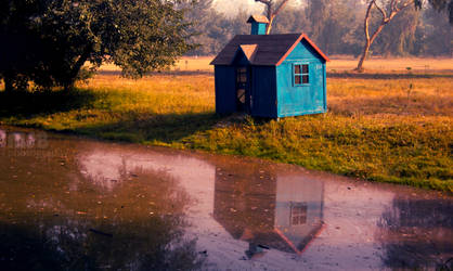 A loner's hut by marshalbains