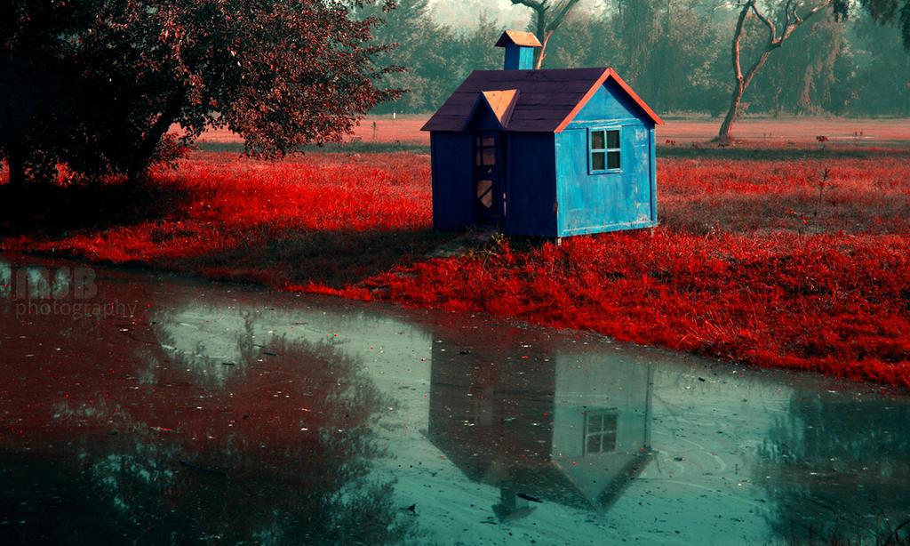 Loner's hut - Edited! by marshalbains on DeviantArt