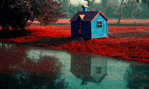 Loner's hut - Edited! by marshalbains