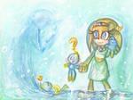 SONIC: Tikal/Chao/Chaos :~Water Fun~
