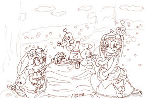 COLLAB: Tikal and Cream - On a Picnic