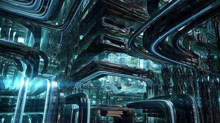The Mechanical Alien Factory