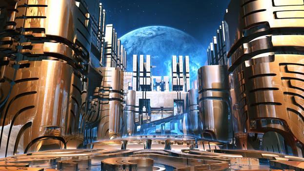 Alien Station City