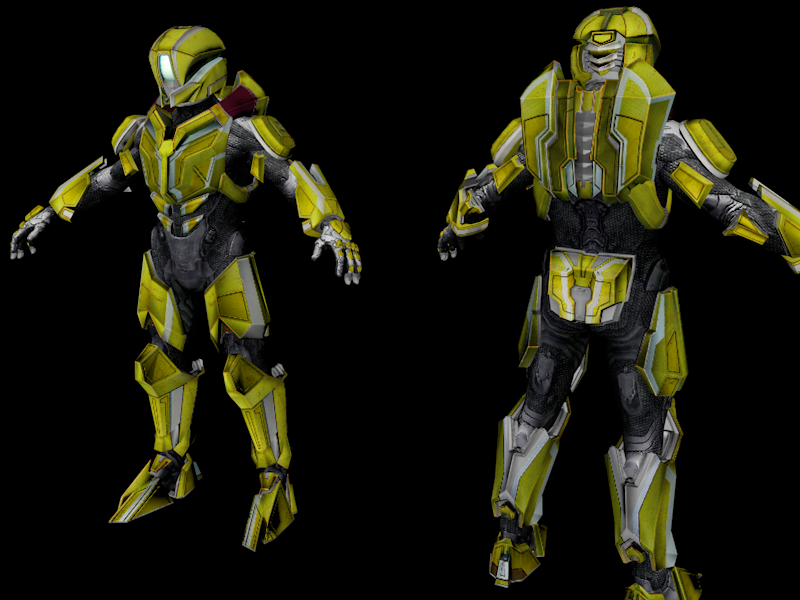 Halo 4 Spartan Prefect Full Armor HD Textures by Bastian27st