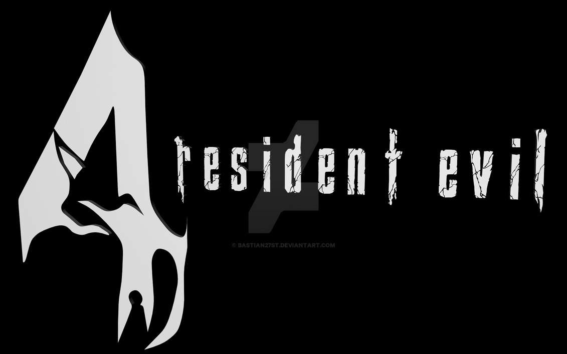 Resident Evil 4 Logo 3D by Bastian27st on DeviantArt