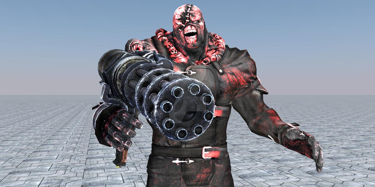 Varios mods de RE: ORC en HD Dark_nemesis_render__01_by_bastian27st-d8x3hsg