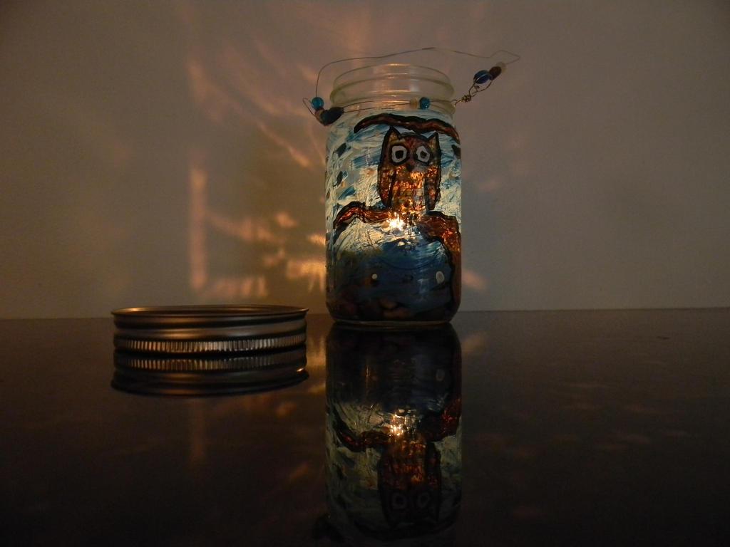 Owl Lantern by Wolfdrappa95