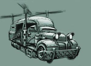 'Dodge Aero' Roto-van