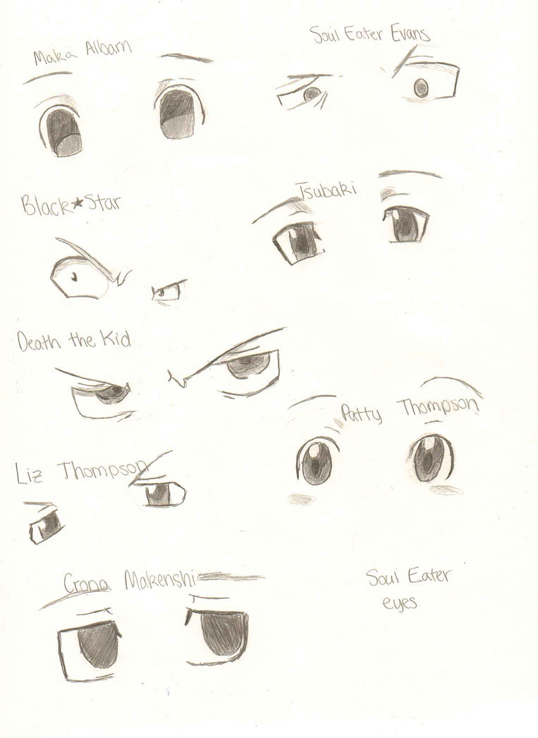 Soul Eater Eyes by RUNNINGWITHSCISSORS1