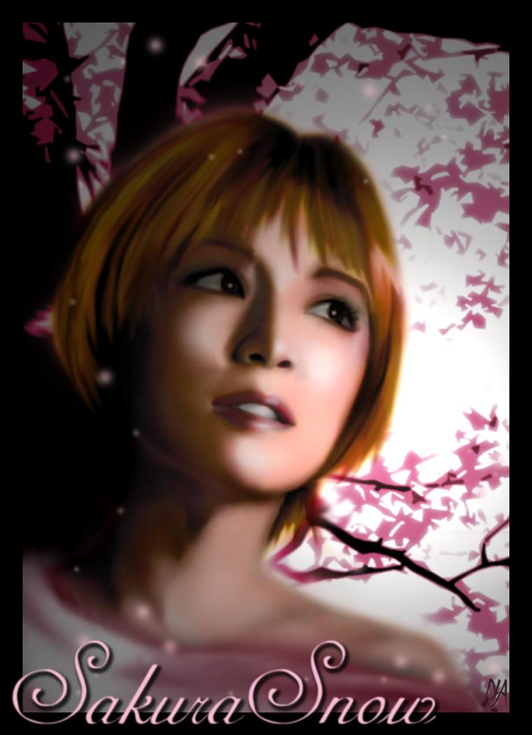 Sakura Snow by teran80