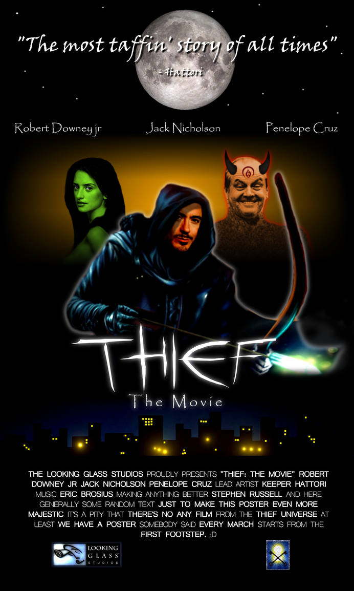 Thief: The Movie - poster by KeeperHattori
