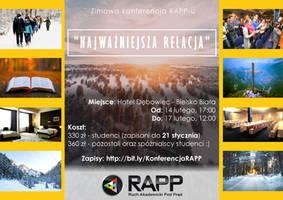 RAPP, Bielsko-Biala - ulotka TYL