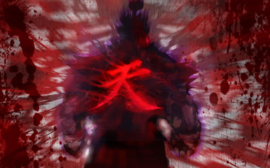 Akuma  The Raging Demon By Yellowflash1234-d93bhrd by darknova567