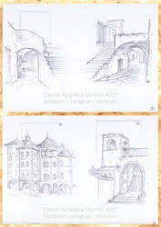 Perspective Studies by DandyAngelicaVannini