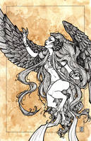 Arpia, Reaching for the Sun by DandyAngelicaVannini