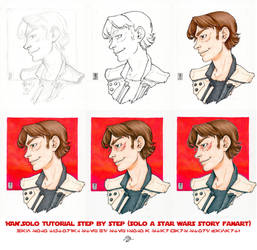 Han Solo, Corellian Style, Tutorial step by step