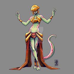 Day 53 - Alien Dancer