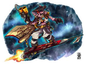 Xiliai, the Axolotl Cosmic Corsair