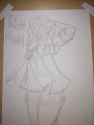 FemJason Voorhees  sketch by stryka93